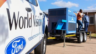 Ford and World Vision launch water-generating project to help drought-stricken communities