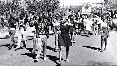 WATCH:The Soweto uprising was a series of demonstrations and protests led by black school children