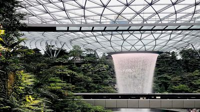 A firsthand look inside Changi's Jewel, making Singapore the ultimate layover destination
