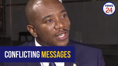 WATCH: Maimane slams Ramaphosa's 'conflicting messages'