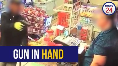 WATCH: Armed robbers steal cash and liquor from KZN store