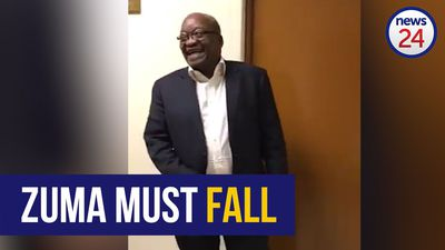 WATCH: Giggling Zuma takes a jibe at detractors in Twitter video ahead of Zondo Inquiry