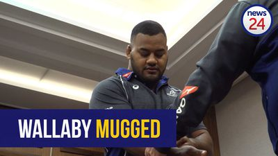 WATCH: Aussie rugby star Taniela Tupou injured in Sandton mugging