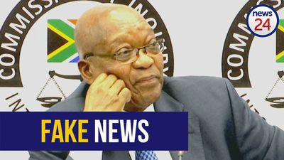 WATCH: Jacob Zuma denies firing GCIS head Themba Maseko at the behest of the Guptas