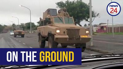 WATCH: Army seen entering Manenberg