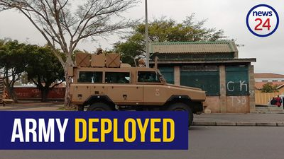 WATCH: SANDF finally deployed in the Cape Flats
