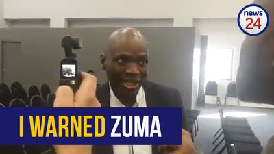 WATCH: I warned Zuma - Hlaudi Motsoeneng