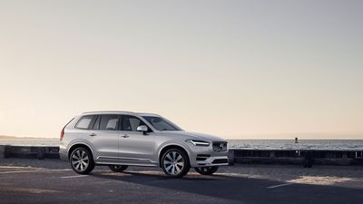 The refreshed Volvo XC90 at a glance