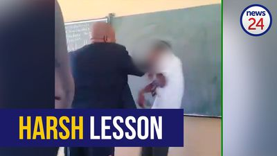 WATCH: Viral video shows Limpopo teacher slapping pupils in class