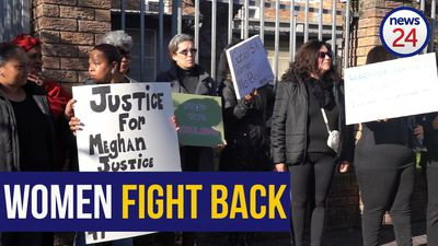 WATCH: Women protest against bail for Meghan Cremer murder accused