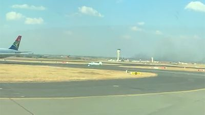 Light aircraft makes unscheduled landing at OR Tambo International