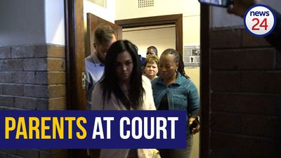 WATCH | Amy'Leigh's family arrives at court ahead of alleged kidnappers' appearance