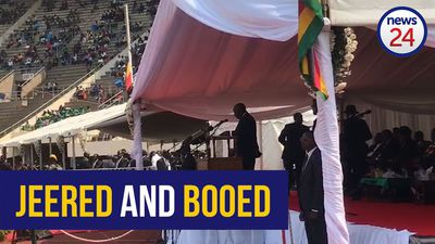 WATCH | Ramaphosa jeered and booed at Mugabe memorial
