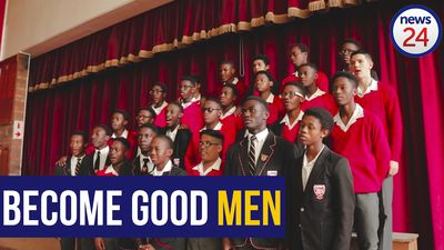 WATCH | 'I will be the man that people run to, not run from' - high school boys make moving pledge
