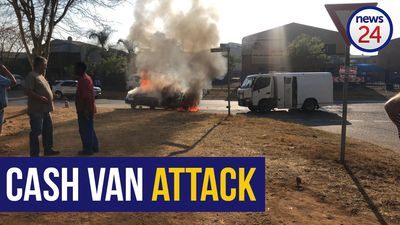 WATCH | Manhunt for 16 armed suspects involved in Pretoria cash van attack