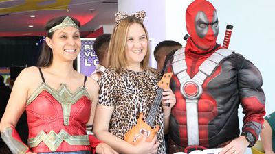 WATCH: Cosplayers pull out all the stops as Comic Con Africa gets underway