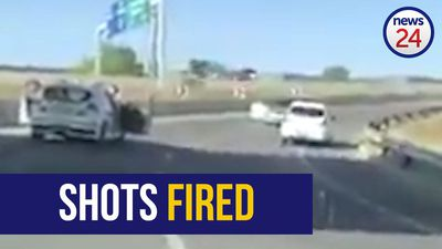 WATCH | Cops and alleged Rolex robbers in Midrand shootout