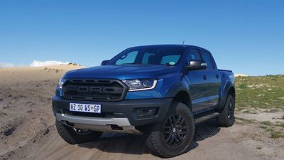 Ford Ranger Raptor tackling the wild
