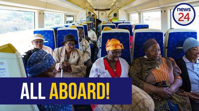WATCH | 'It was lovely' - Soweto gogos take first Gautrain ride