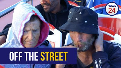 WATCH | Cape Town's homeless treated to bus tour and celebration