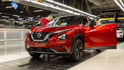 New high-tech Nissan Juke enters production