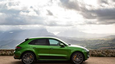 New Porsche Macan Turbo