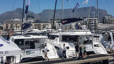 A sneak-peek at the Leopard 50 - a South African-built catamaran