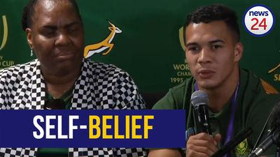 WATCH | 'It doesn't matter how big or small you are' - Kolbe says self-belief is more important