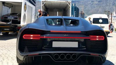 How to unload an expensive Bugatti Chiron Sport in SA