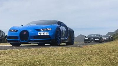 These 6 Bugatti models are driving around in South Africa