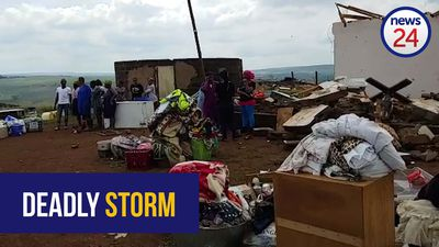 WATCH | KZN mother describes harrowing moment tornado killed daughter