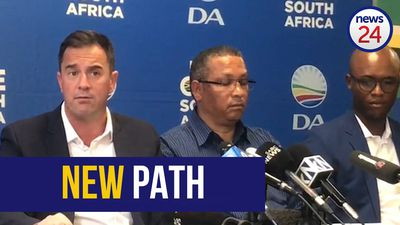 WATCH | 'No more blue wobbly jelly at the centre of politics' - Steenhuisen