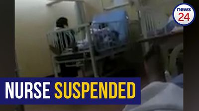 WATCH | Swearing nurse suspended after she is caught on video berating patient