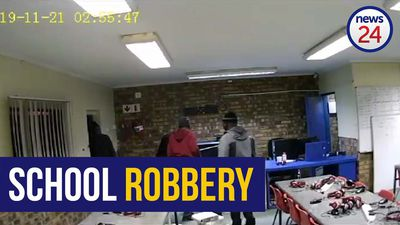 WATCH | Thieves make off with computers, cash from Gauteng school