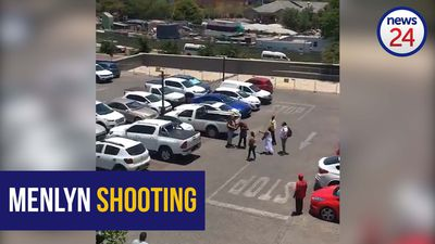 WATCH | Final moments of man killed in Menlyn shooting caught on camera