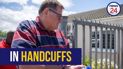 WATCH | Willem Breytenbach in cuffs following sexual assault arrest