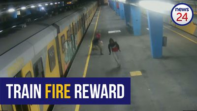 WATCH | Train fire culprits attack and run