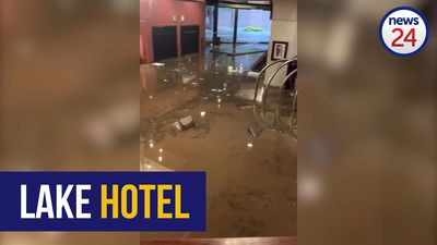 WATCH | Lake Hotel in Centurion flooded