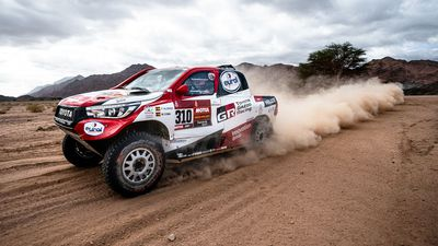 Fest your eyes on some of the best bits of the Dakar rally