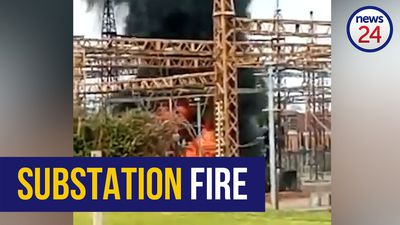 WATCH | OR Tambo airport, surrounding areas in the dark after transformer catches alight