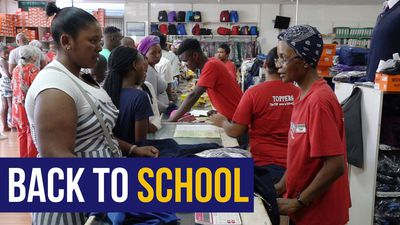 WATCH | Parents fork out for supplies as children head back to school