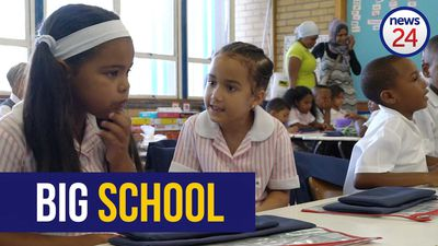 WATCH | 'When I grow up, I want to be a grown up'- Big smiles as Grade 1 pupils start 'big school'
