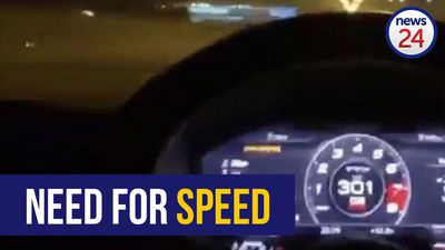 WATCH | 'Joburg' speedster cruises highway at more than 300km/h