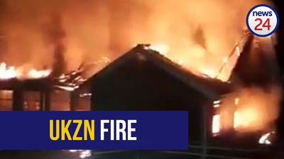 WATCH | Third UKZN building torched, academic programme at all campuses suspended immediately