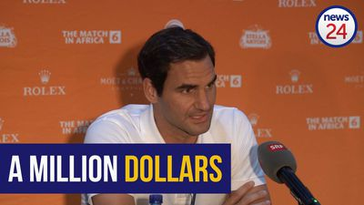 WATCH | Federer hopes to raise $1m when he takes on arch-rival Nadal in charity match