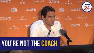"WATCH | Roger Federer: ""You're not the coach dad!"""