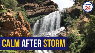 WATCH | Witpoortjie Falls back to 'normal' after heavy rains