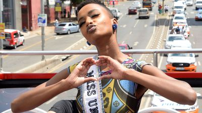 WATCH: Miss Universe takes to the streets of Johannesburg