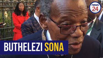 WATCH | 'More action, less talk' - Buthelezi's message to Ramaphosa