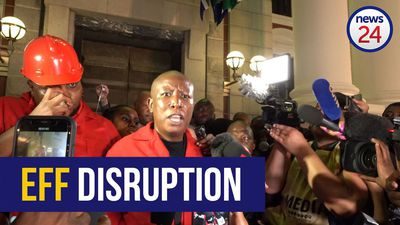 WATCH | EFF members walk out of Parliament as speaker stands firm that the show must go on
